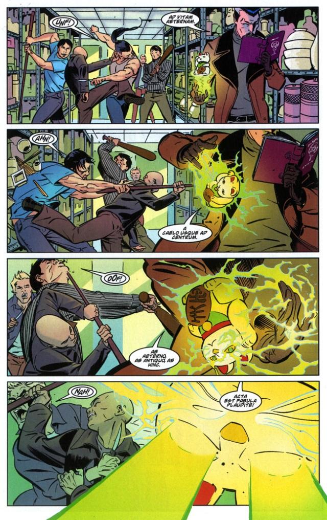 Dr Strange & Wong vs Thugs