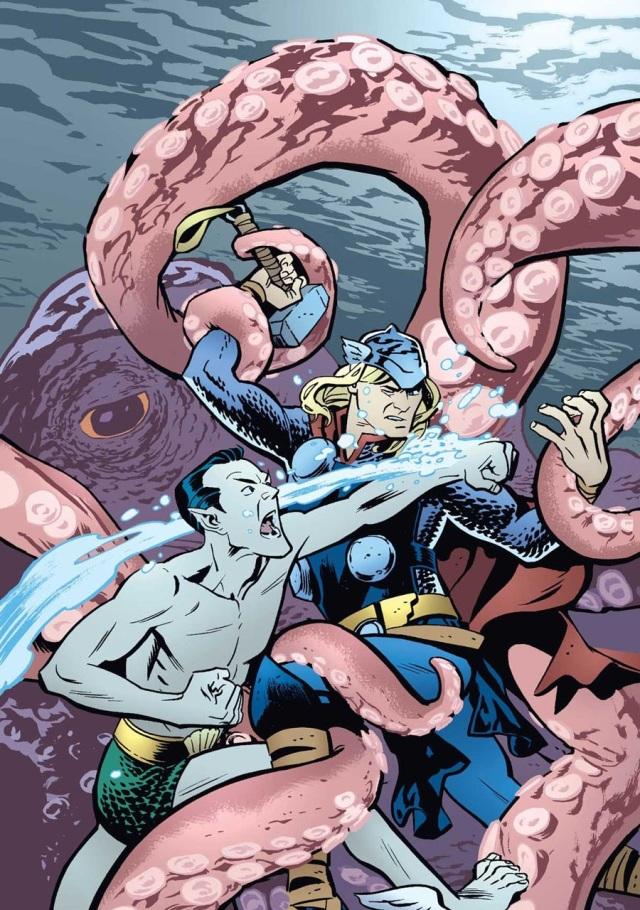 Thor vs. Namor
