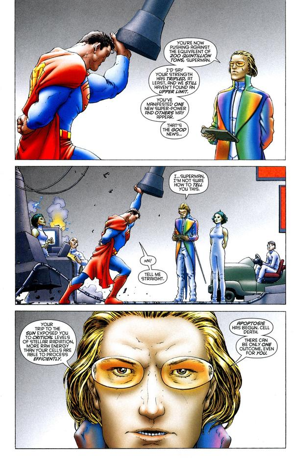 All-Star Superman Cell death