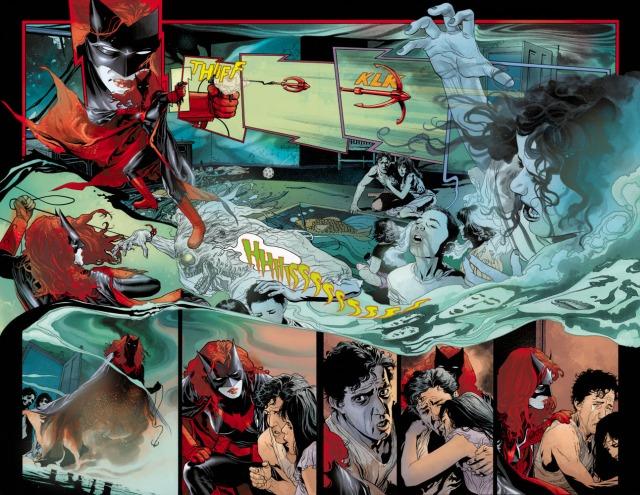 Batwoman grapple splash
