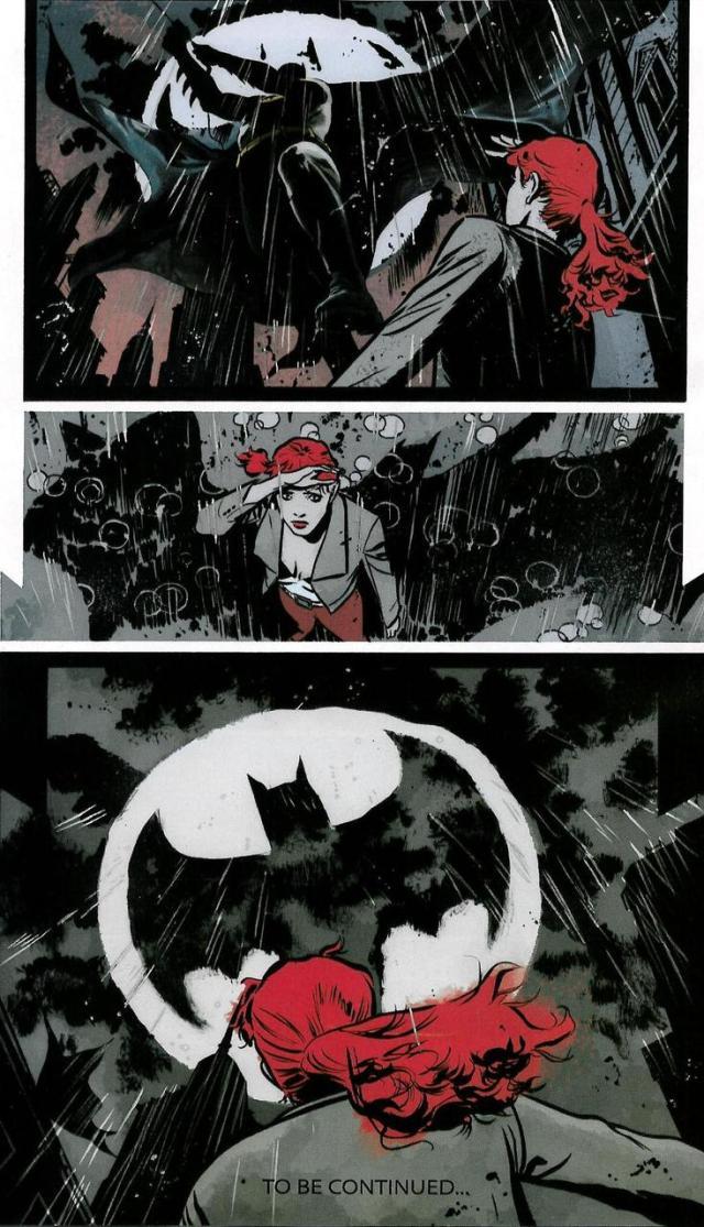 Kate Kane inspired by the Bat symbol