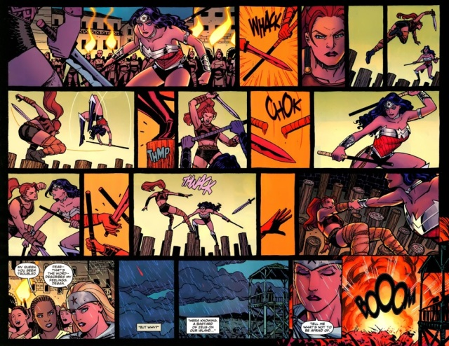 Wonder Woman Combat