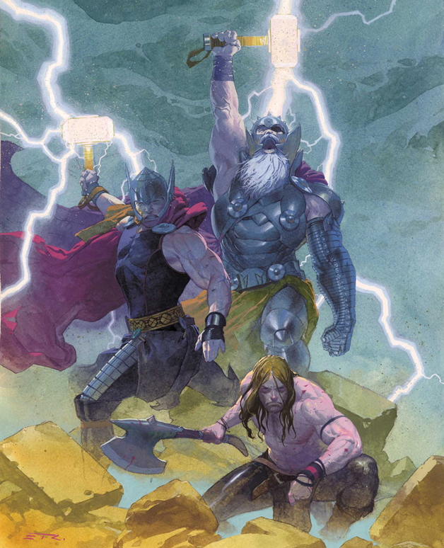 The Three Thors